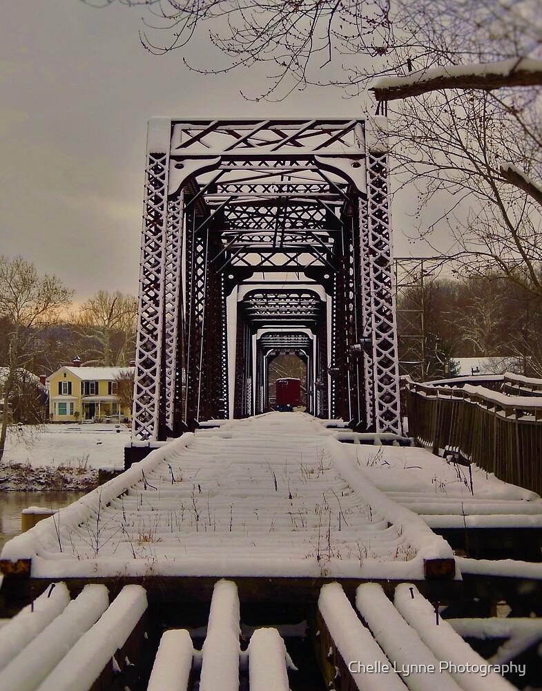 Harmar Rail Bridge by Chelle Lynne Photography
