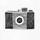 camera ink drawing by ArtLuver