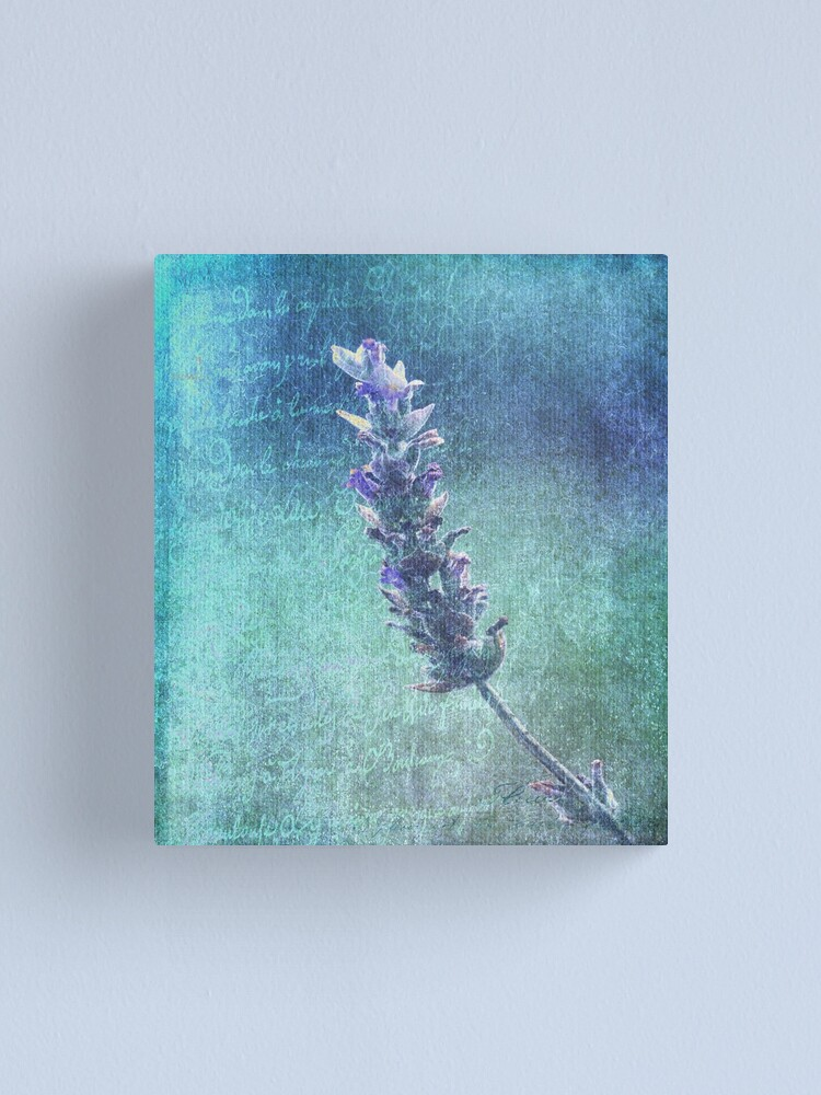 Alternate view of Of Love and Lavender  Canvas Print