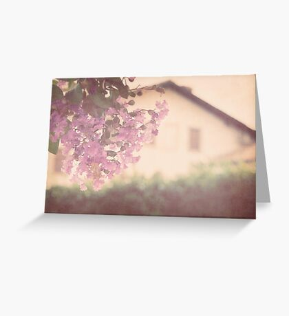 Italian Floral Greeting Card