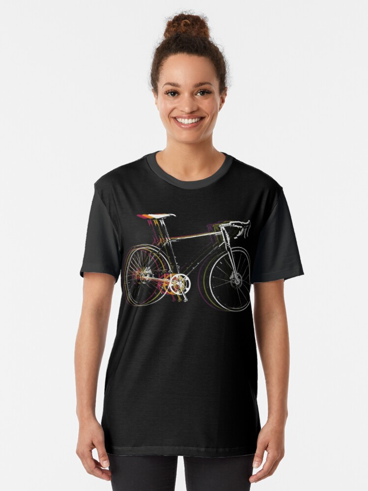 Alternate view of Sprint Bicycle Graphic T-Shirt