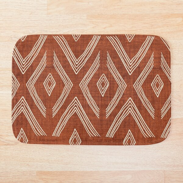 Birch in Rust Bath Mat