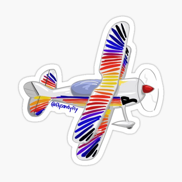 Christian Eagle Airplane Sticker