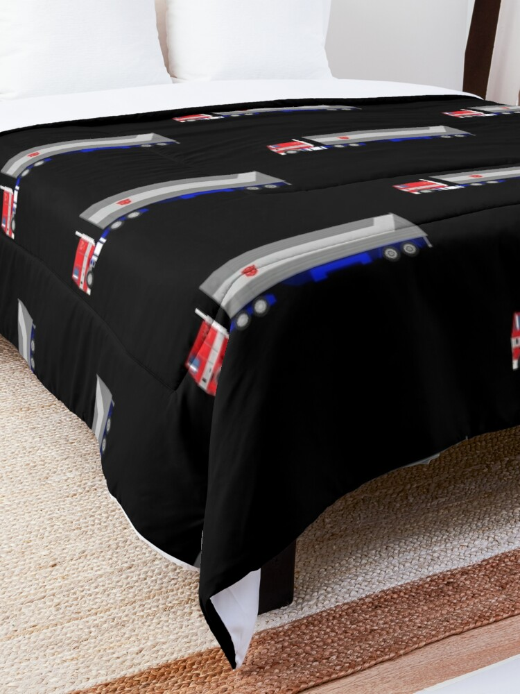 Alternate view of Optimus Prime Comforter