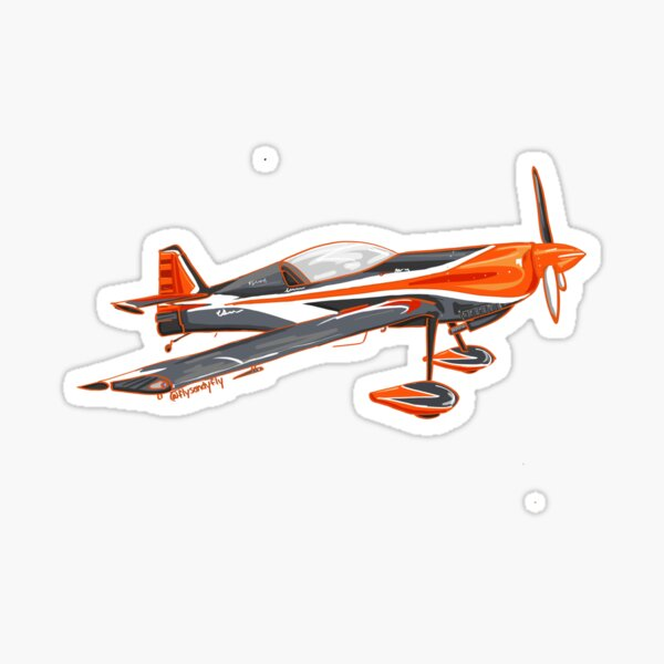 Giles Aerobatic airplane Sticker