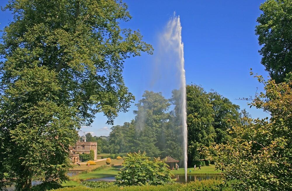 Centenary Fountain, Forde Abbey by RedHillDigital