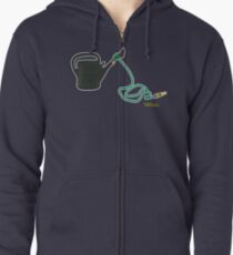 """Flight of the Conchords: """"Can Attack!"""" (no text) Zipped Hoodie"""