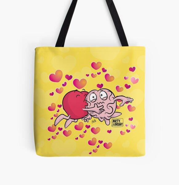 San Valentin-J&B Bolsa estampada de tela