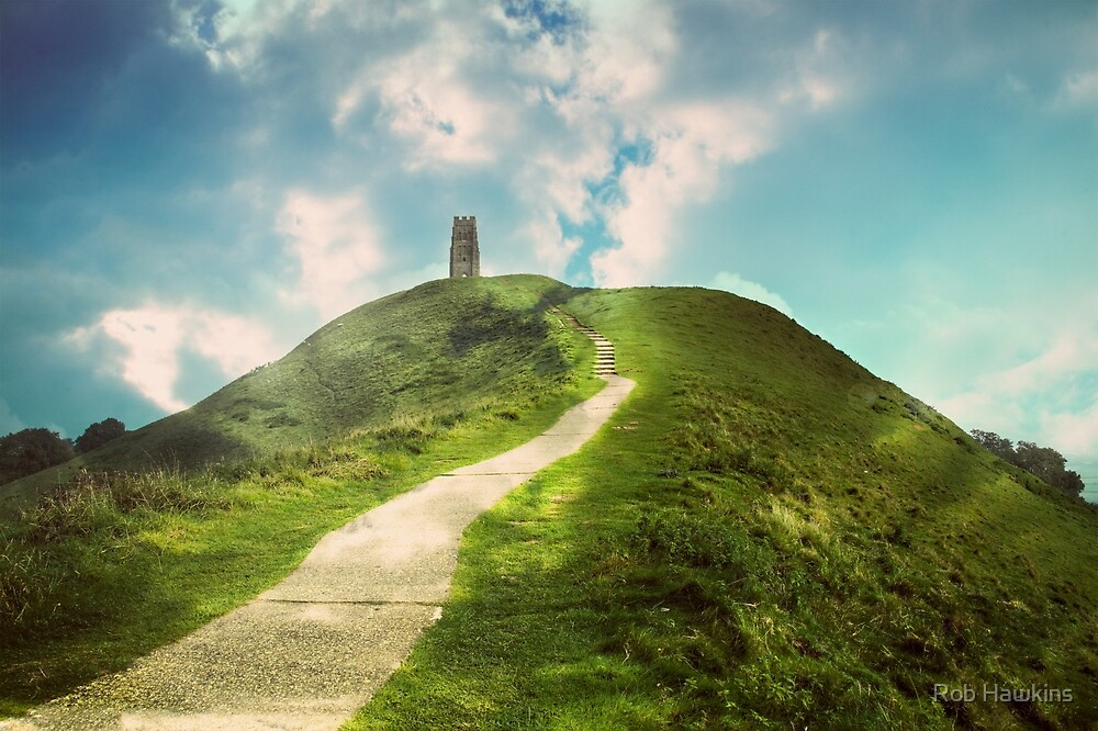 Glastonbury Tor by Rob Hawkins