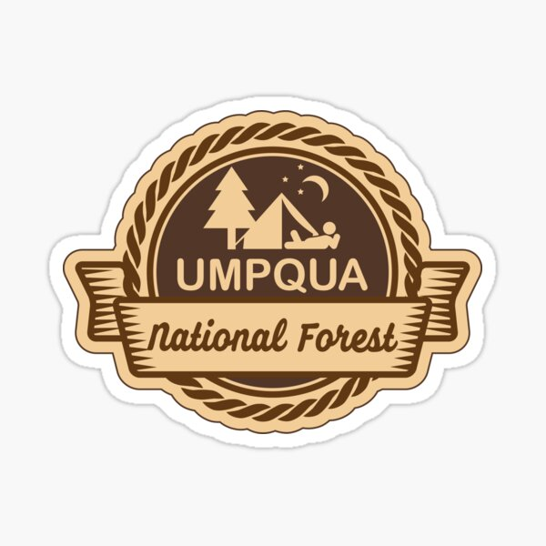 Umatilla National Forest Decal Sticker Explore Wanderlust Camping Hiking