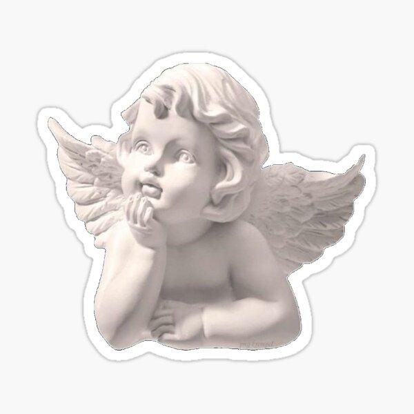 ángel estético Pegatina