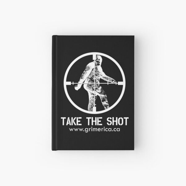 Grimerica Take The Shot Hardcover Journal