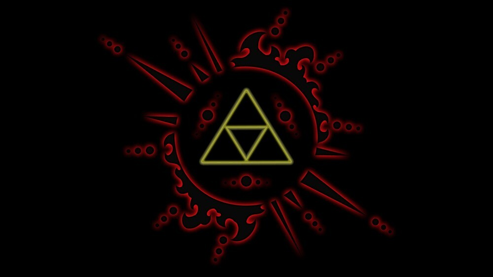 Zelda Triforce by Cusieler
