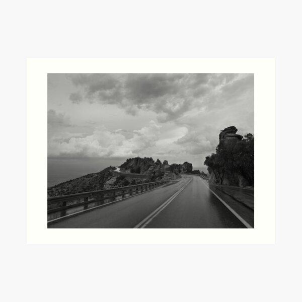 Highway Down Art Print