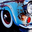 Blue Ford by Benjamin Sloma