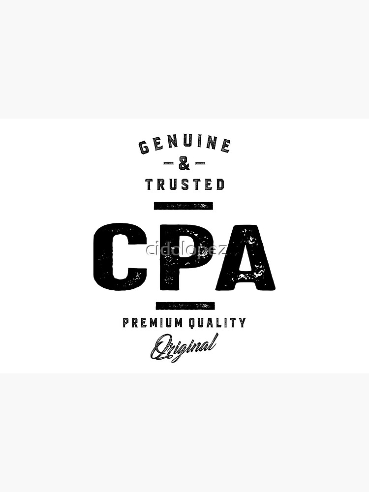 CPA Work Job Title Gift by cidolopez