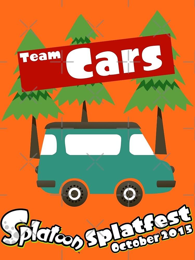 Splatfest Team Cars v.1 by KumoriDragon