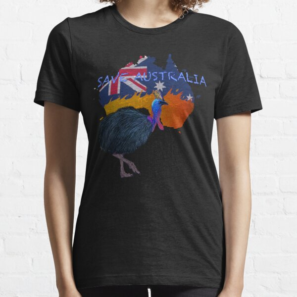 Save Australia Cassowary Essential T-Shirt
