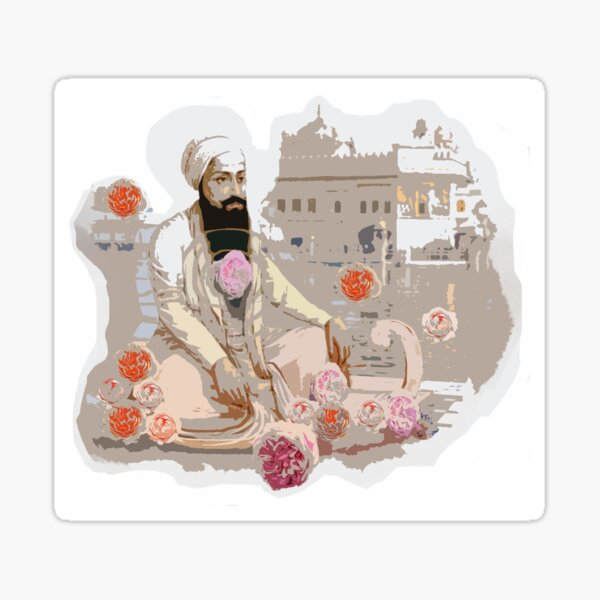 Lord of Miracles and the Roses Sticker