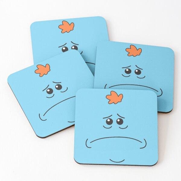 Mr. Meeseeks | Sad Mr. Meeseeks Coasters (Set of 4)