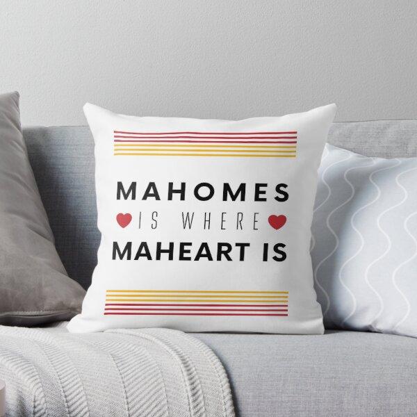 Kansas City Patrick Mahomes Throw Pillow