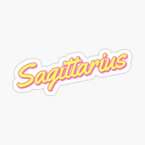 SAGITTARIUS astrology zodiac signs stickers by gabyiscool Sticker