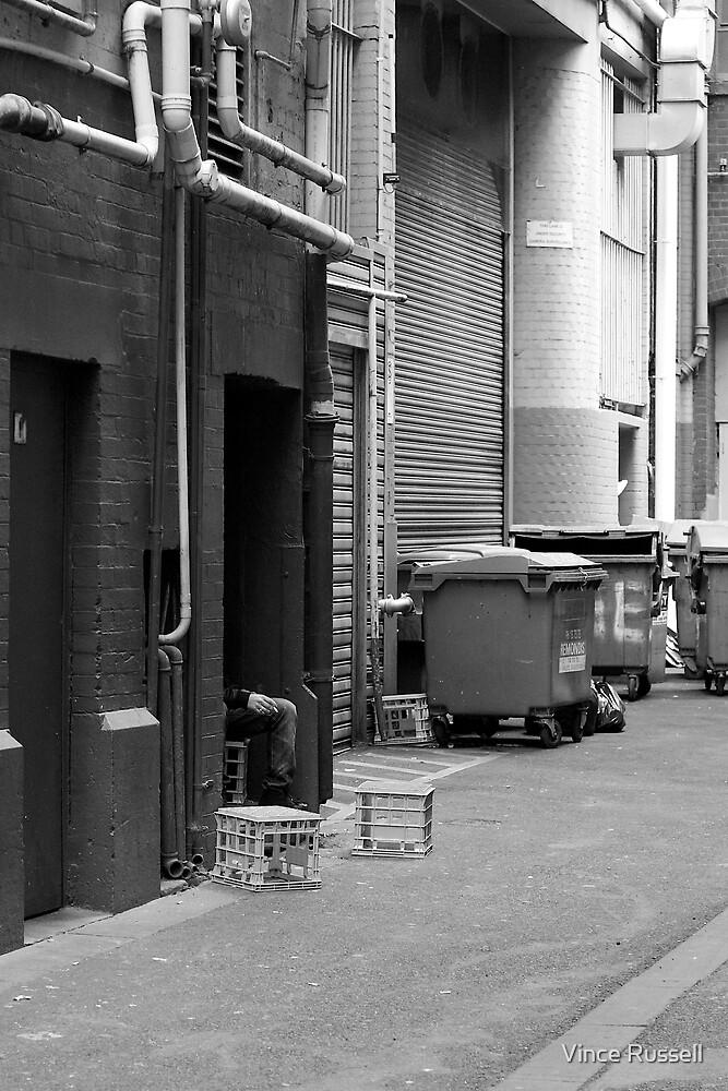 Alleyway Inhabitants by Vince Russell