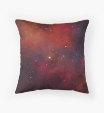 Space Fox Nebula Coussin de sol