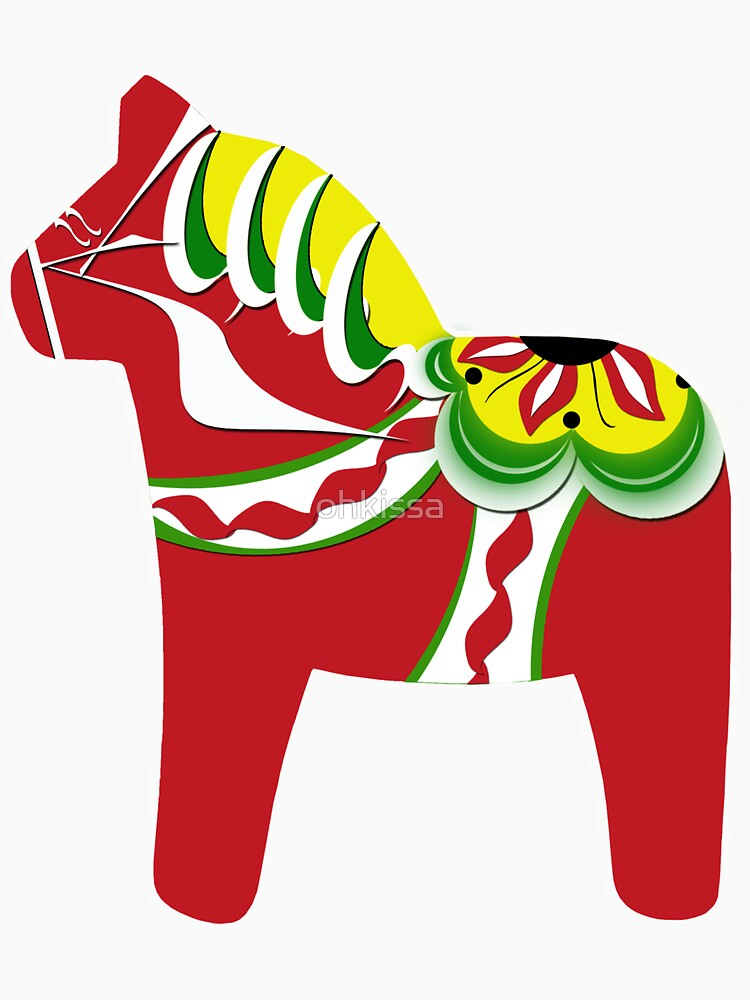 Dala Horse by ohkissa