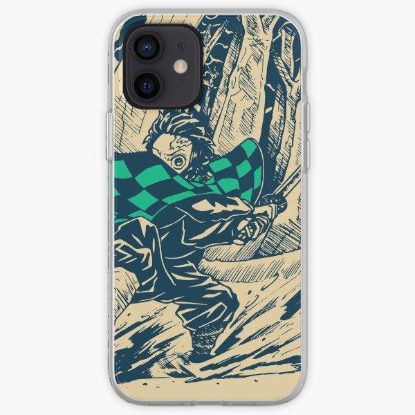 Demon Slayer Vintage iPhone Soft Case