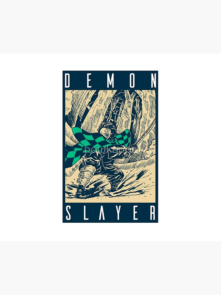 Demon Slayer Vintage by powkapow
