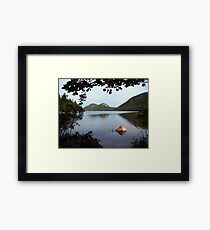Jordan Pond Framed Print