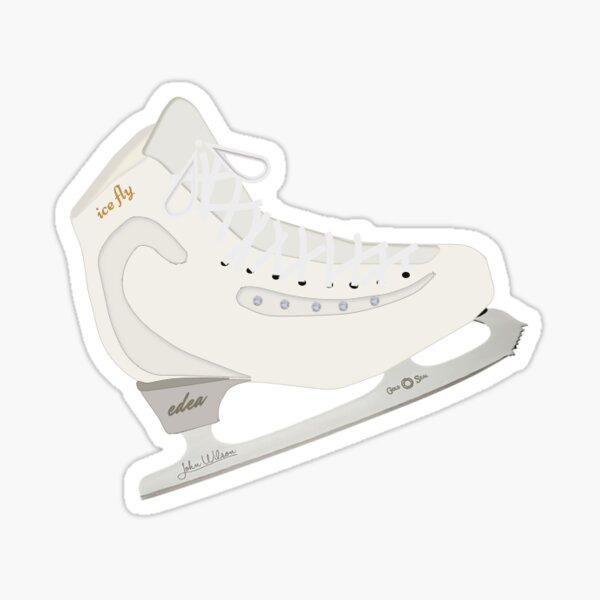Edea Ice Fly Figure Skate Sticker