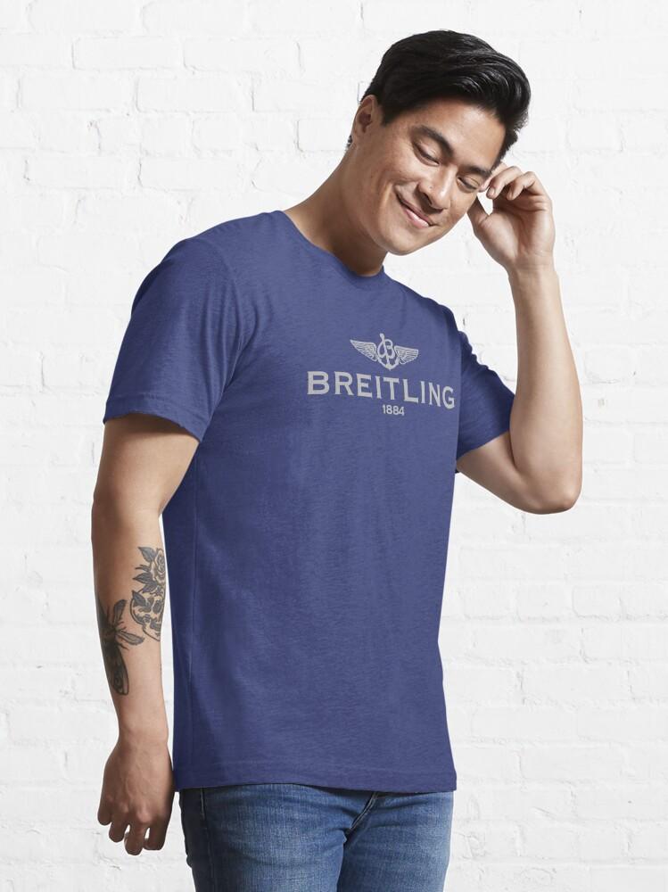 Alternate view of Breitling logo Grey Essential T-Shirt