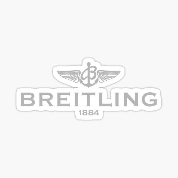 Breitling logo Grey Sticker