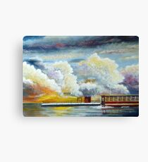 Flooded Train Station (Spirited Away) Canvas Print