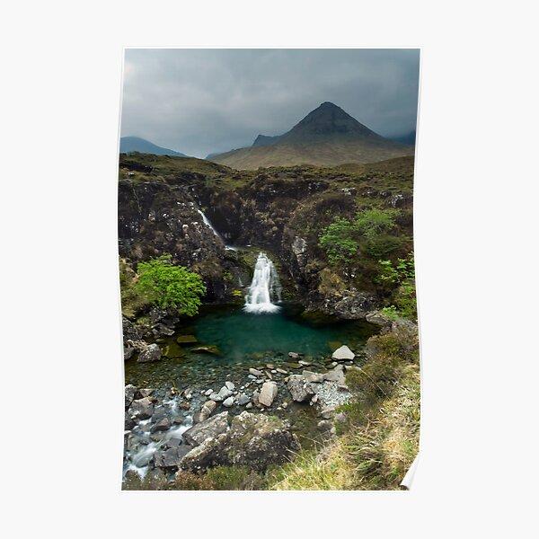 Cuillin View, Scotland Poster