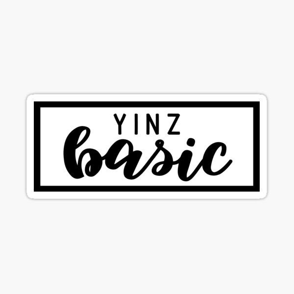 Yinz Basic Sticker