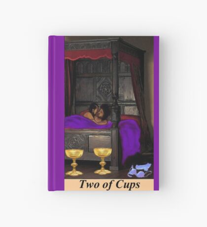 TWO OF CUPS Hardcover Journal