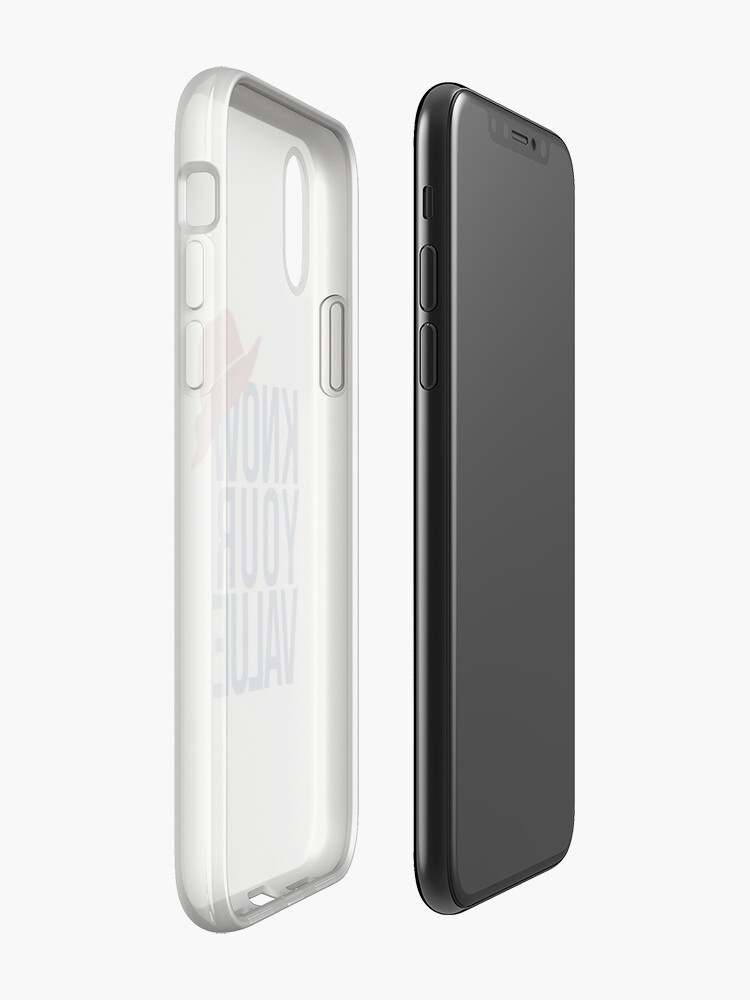 Alternate view of Know Your Value iPhone Case & Cover
