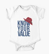 Know Your Value One Piece - Short Sleeve