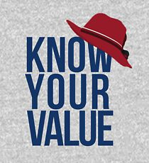 Know Your Value Kids Pullover Hoodie