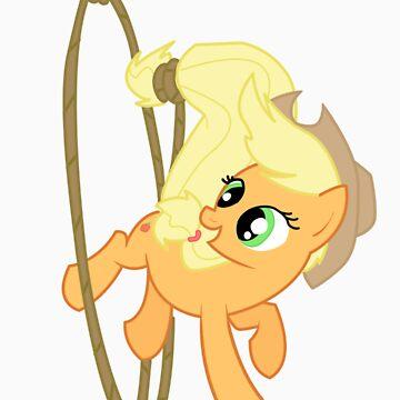 Applejack Rope Twirl by Jaelachan