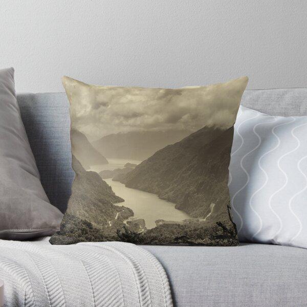 Fiordland (s) Throw Pillow