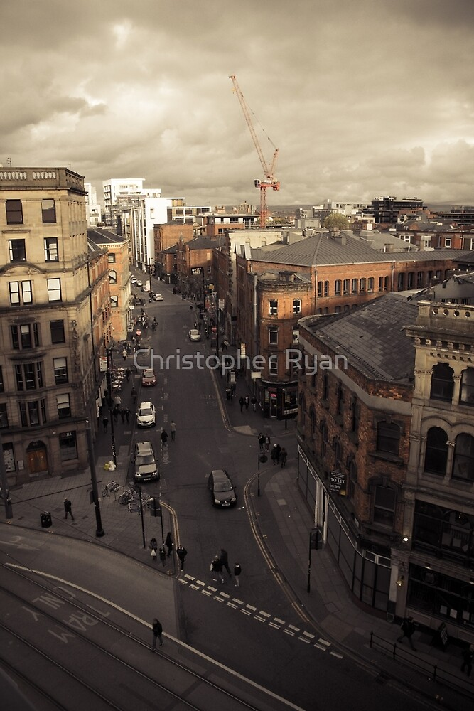 Manchester Streets I  by Christopher Ryan