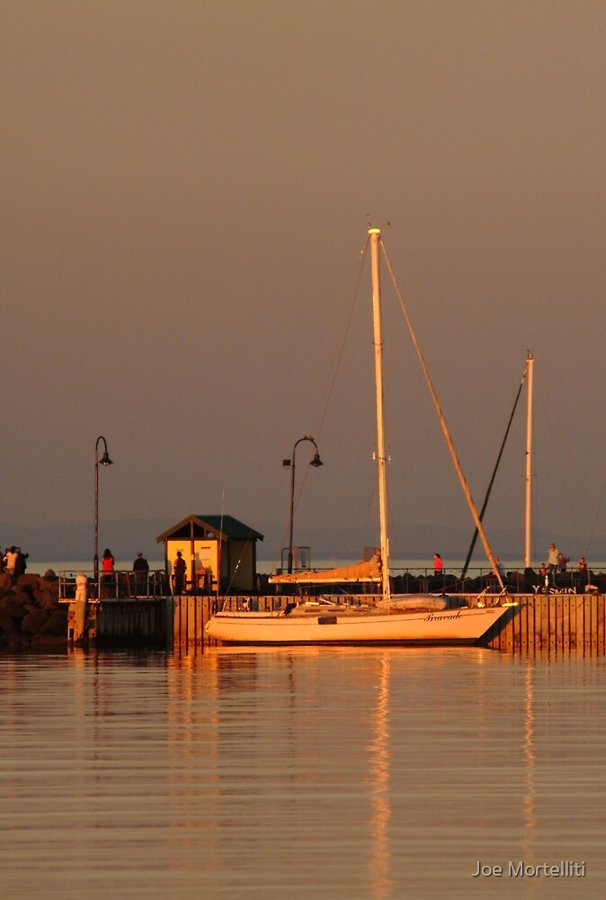 Portarlington Pier, Sunset by Joe Mortelliti