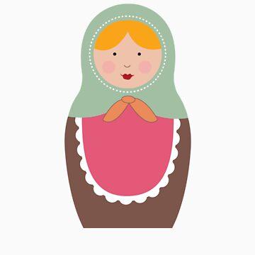Matryoshka Doll #7 by melissagavin