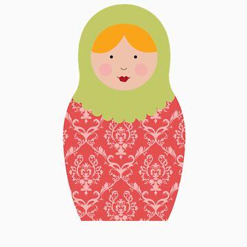 Matryoshka Doll #8 by melissagavin