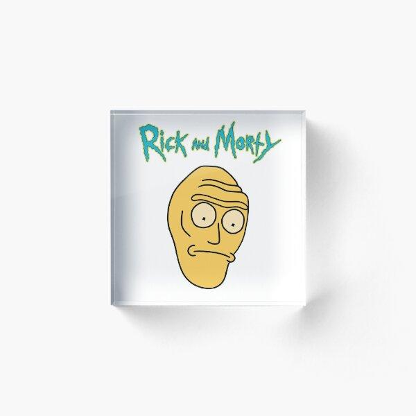 Cromulon Giant Head | Rick and Morty character Acrylic Block