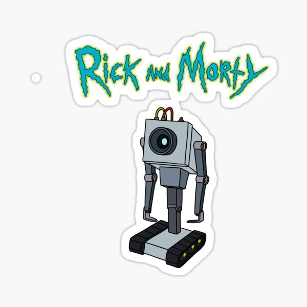 Butter Roboter |Rick and Morty Gadget Sticker